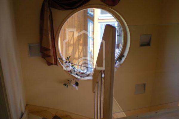 Foto interior desde interior ojo de buey