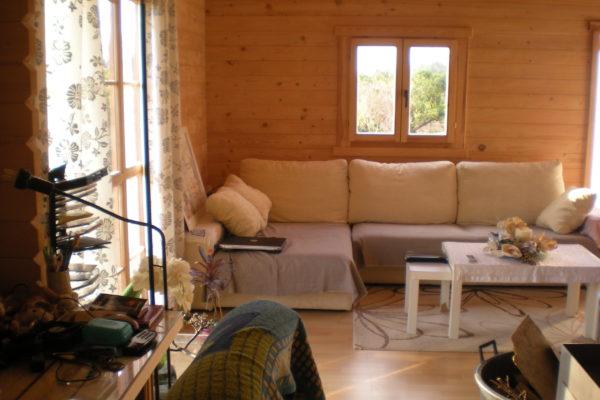 Saloncito sofa y mesitas