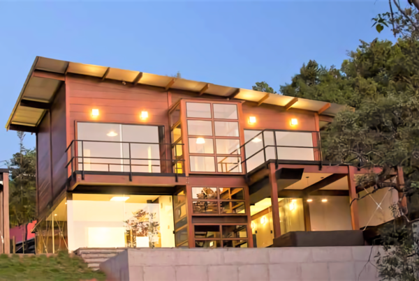 casa de madera barata