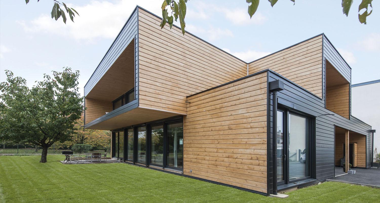 Casas de madera modernas – casas pasivas