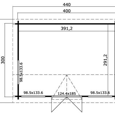 windsor 44 plano